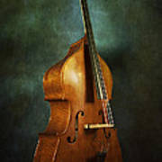 Solo Upright Bass Poster
