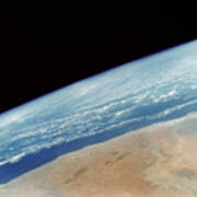 Somalia Seen From Space Shuttle Poster