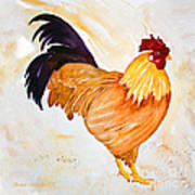 Some Days You Have To Paint A Rooster Poster