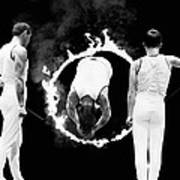 Somersault Through Flames Poster