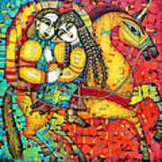 Sonata For Two And Unicorn Poster by Albena Vatcheva