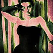 Sophia Loren - Pink Pop Art Poster