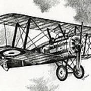 Sopwith F.1 Camel 1917 Poster