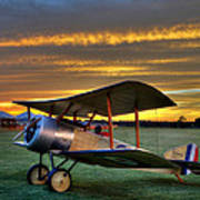 Sopwith Sunset Poster
