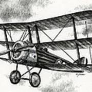 Sopwith Triplane 1917 Poster