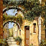 Sotto Gli Archi Poster by Guido Borelli