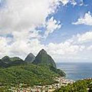 Soufriere St. Lucia Poster