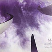 Soul In The Sky - Us Air Force Memorial Poster