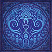 Soul Mates - Blue Poster