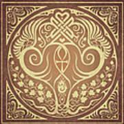 Soul Mates - Gold Poster