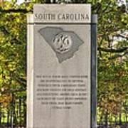 South Carolina At Gettysburg - Close 1 Poster