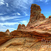 South Coyotte Buttes 8 Poster by Bob Christopher
