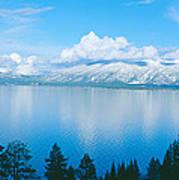 South Lake Tahoe In Winter, California Poster