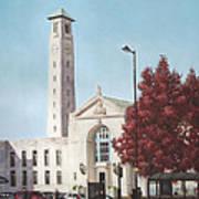 Southampton Civic Center Public Building Poster