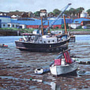 Southampton Northam Boats Poster