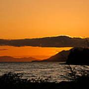 Southeast Alaska Sunset Poster