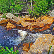 Southeast Brook Above Falls In Gros Morne Np-nl Poster