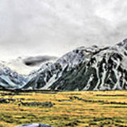 Southern Alps Nz Poster