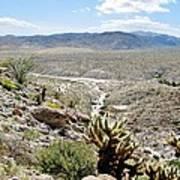 Southern California Desert Landscape Poster