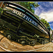Southern Pacific 2472 Steam Engine 1921 Sunol Station Poster