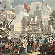 Southwark Fair, 1733, Illustration Poster