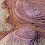 Southwest Stone Abstract 1 Poster