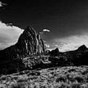 Southwestern Beauty In Black And White Poster