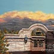 Southwestern Monsoon Sunset Poster