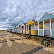 Southwold Beach Huts 4 Poster