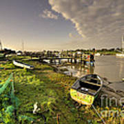 Southwold Harbour  Poster
