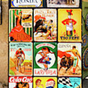 Souvenir Copies Of Old Spanish Poster
