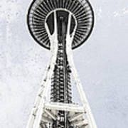 Space Needle Seattle Poster
