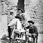 Spain Cowboys, C1875 Poster
