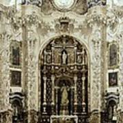 Spain. Granada. Cartuja Carthusian Poster