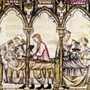 Spain: Medieval Hospital Poster