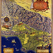 Spanish And Mexico Ranchos Poster