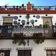 Spanish Facade Poster