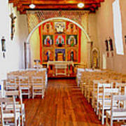 Spanish Mission Church New Mexico Poster