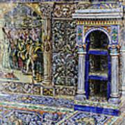 Spanish Tile Poster