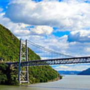 Spanning The Hudson River Poster