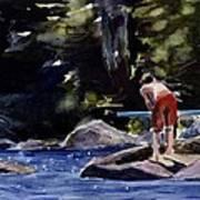 Sparkle Lake Poster