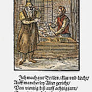 Spectacle Maker, 1568 Poster