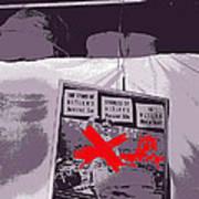 Spectators  Circus Tent Auction Adolf Hitler's 1941 Mercedes  Scottsdale Arizona 1973-2009 Poster