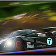Speed 8 At Night Poster