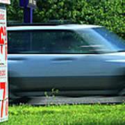 Speeding Gas Prices Poster
