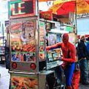 Spider Man Hot Dogs Poster