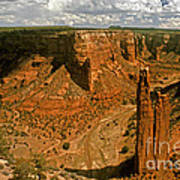 Spider Rock - Canyon De Chelly Poster