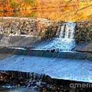 Spillway Waterfall Poster