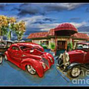 Spin A Yarn Car Show Poster