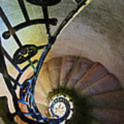 Spinning Stairway Poster